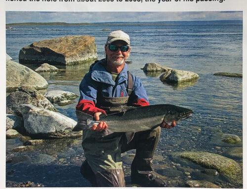 Coho Fishing The Egegik River