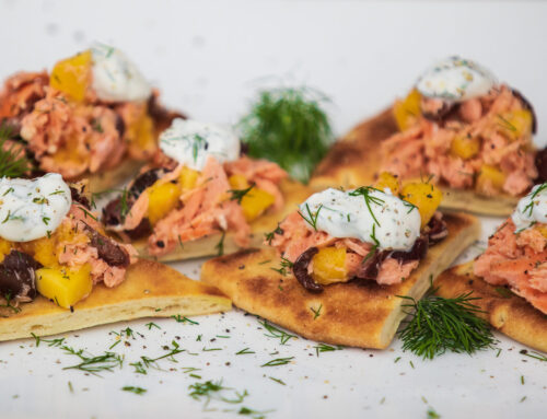 Recipe: Salmon Flatbread